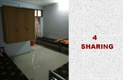 Four Sharing Rooms
